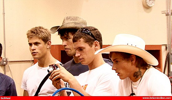 BelAmi Models: BA Boys Making Of Fleshjacks Part1