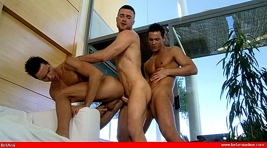 BelAmi Models: The Peters Twins & Christian